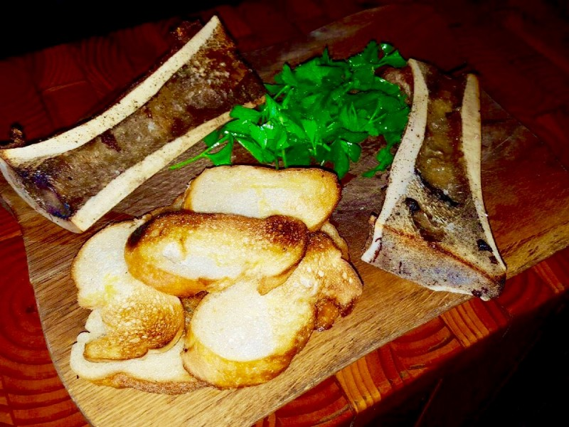WOOD FIRED BONE MARROW